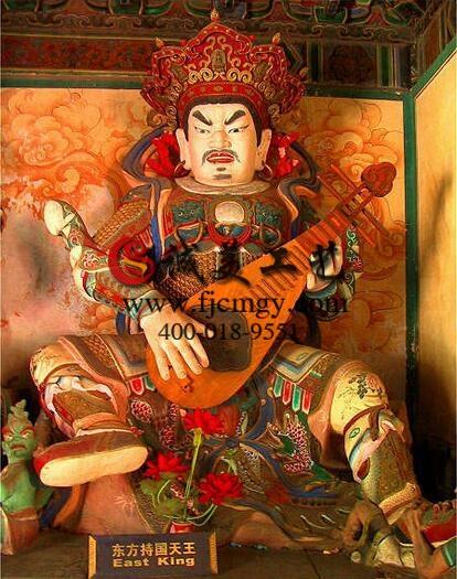 [佛教常识] 佛教的护法神:四大天王